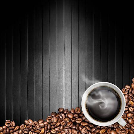 コーヒー バック グラウンド 写真素材