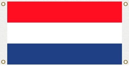 holland flag: Netherlands Holland flag background Eyelet punch the corner Stock Photo