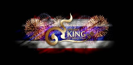 '5 december': birthday anniversary 5 december the King of Thailand Stock Photo
