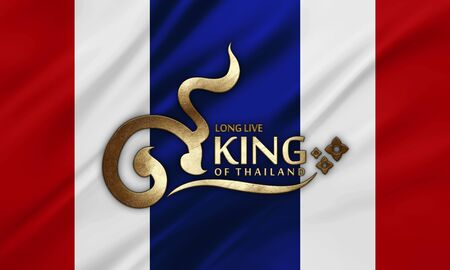 king thailand: birthday anniversary 5 december the King of Thailand Stock Photo