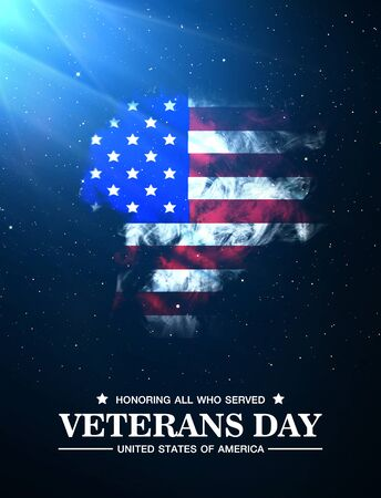 island state: Veterans Day united states of america Stock Photo