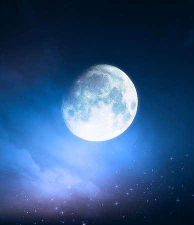 night: night sky background Stock Photo
