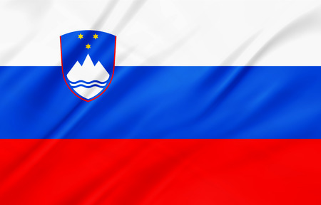 slovenia: The National Flag of Slovenia