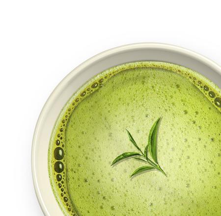 green tea: green tea Stock Photo