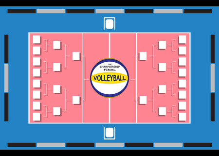 fixtures: Fixtures Volleyball  illustration