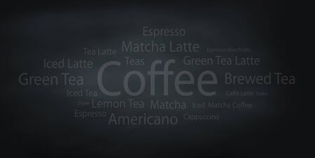 coffee background: beverage and coffee background Stock Photo