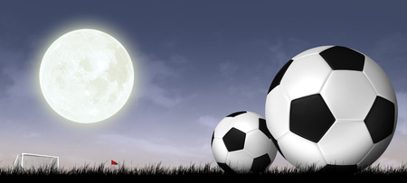 soccer background: soccer and football sport background Stock Photo