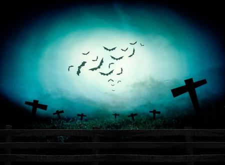 Halloween Festival illustratie en achtergrond Stockfoto