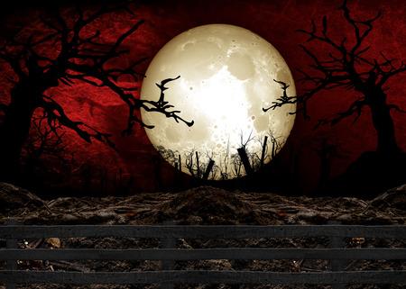 Halloween Festival illustration and background Фото со стока - 42731162