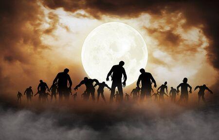 halloween festival illustration and background Фото со стока - 42731307