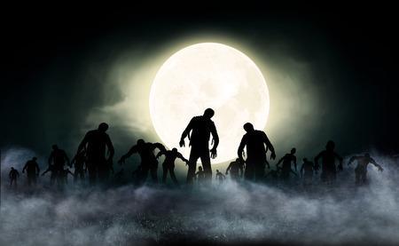 halloween festival illustration and background Фото со стока - 42731363