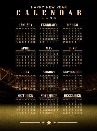 greensward: calendar 2016 and happy new year