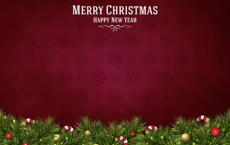 vrolijk kerstfeest festival achtergrond Stockfoto