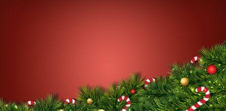 merry christmas festival illustration background