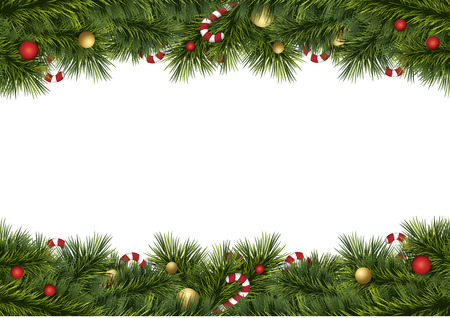 merry christmas festival illustration background Фото со стока - 43084179