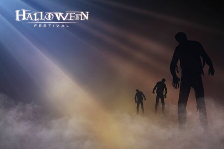 paling: halloween festival illustration and background