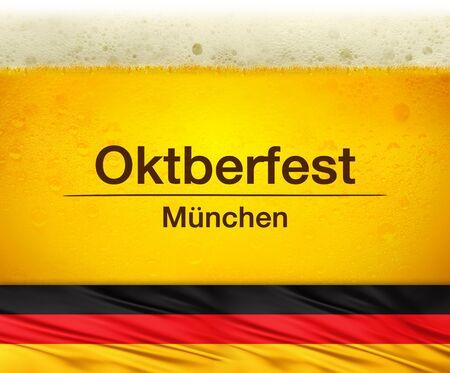 festiva: oktoberfest celebration, beer festival background Stock Photo