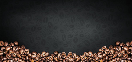 coffee illustration abstract and background Banque d'images