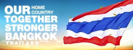 uniformity: our home our country together stronger of thailand