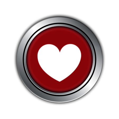 happy valentine day: love button, happy valentine day