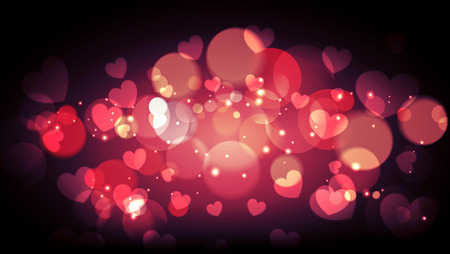 valentine background soft light vintage design, Blur and Select focus Фото со стока