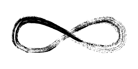 Infinity symbol vector illustration.