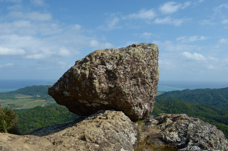 Megalithic at a high place 写真素材