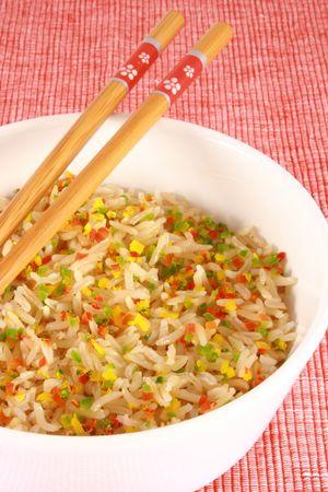 confetti rice Stock Photo - 2681773