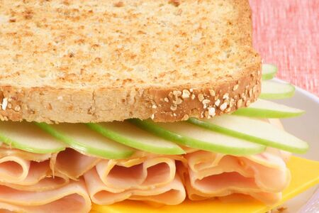 selected: fresh sandwich made with organic selected ingredients