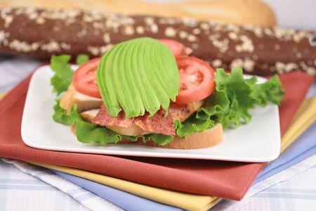 nutrients: ricos en nutrientes perfecta para el desayuno, almuerzo o cena  Foto de archivo