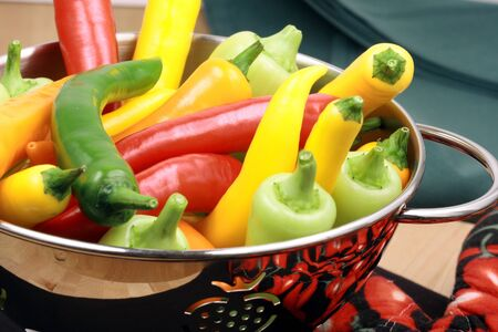 medium size: This fabulous medium  size peppers are  prized for the warm, burning sensation when eaten