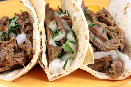 Delicious mexican tacos perfect appetizer meal or delicious snack
