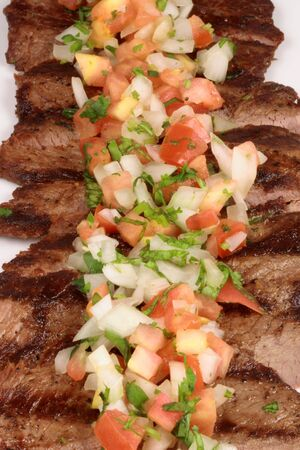 juicy beef grilled to perfection thick and flavorful cut      photo