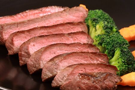 organic beef grilled to perfection to keep all the nutrients and flavors