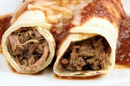 Leckere mexikanische Tacos perfekte Mahlzeit oder Vorspeise k?stlichen Imbiss
