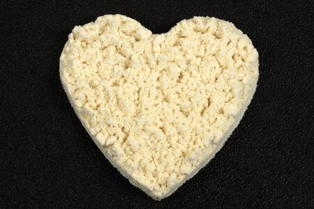 Heart shape Protein powder perfect supplement for bodybuilders ,fitness enthusiasts ,dieters and excercise aficionados    photo