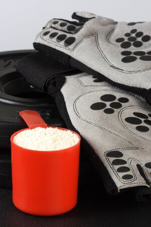 protein powder the key of bodybuilding supplementation and nutrition  photo
