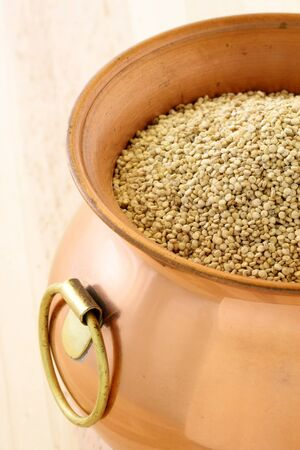 raw quinoa having the most complete proteins of any grain, it is also a great source of vitamins and minerals. photo