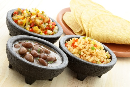 tacos: delicious taco ingredients, used to make your tacos and enjoy the fun of creating you own personal meal.