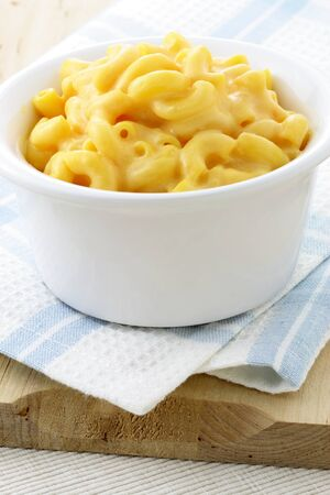 dinnertime: Delicious mac and cheese made with a smooth, creamy sauce. This macaroni and cheese family favorite is always a welcomed addition for lunch or at dinnertime.