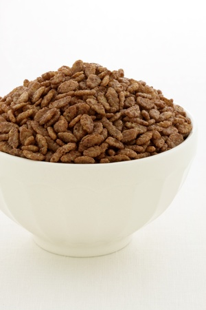 Delicious and nutritious cocoa-flavored, crisped rice cereal, served in a beautiful French Cafe au Lait Bowl photo