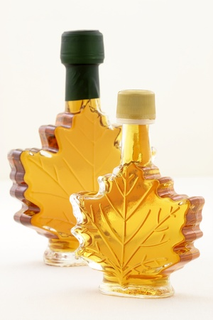 delicious maple syrup made in vermont and canada great over almost any food including the world famous pancakes, waffles and also lots of baked goods. photo