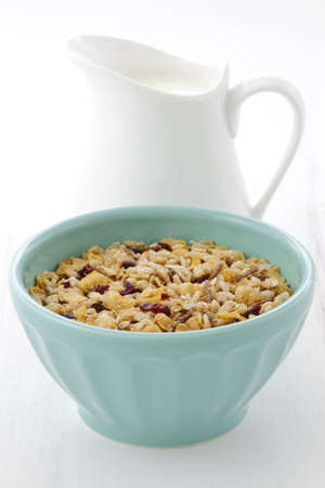 musli: Delicious and nutritious lightly toasted breakfast muesli or granola cereal