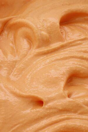 homemade delicious pumpkin Ice Cream recipe for the holidays Stock Photo - 17451850