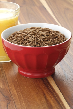 caf: Delicious and nutritious cereal, high in bran, high in fiber, served in a beautiful  French Cafe au Lait Bowl with wide rims  In place of handles  This healthy bran cereal will be an aid to digestive health