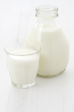 Delicious, nutritious and fresh milk pint. photo