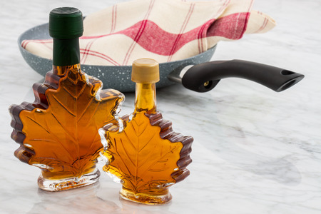 maple syrup: beautyfully styled delicious maple syrup Stock Photo