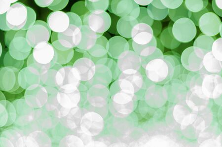color tone: green color tone bokeh background Stock Photo