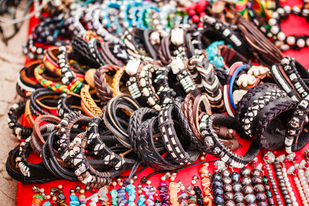 Handmade bracelets and necklace, accessories thai style.