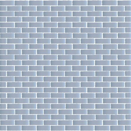 Brick wall vector illustration background, texture pattern for continuous replication.